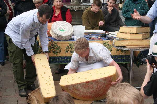 Man Cheese!  It takes a real Cheeseman to work with this stuff!